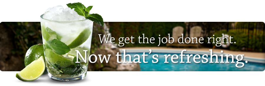 We get the job done right. Now that's refreshing.